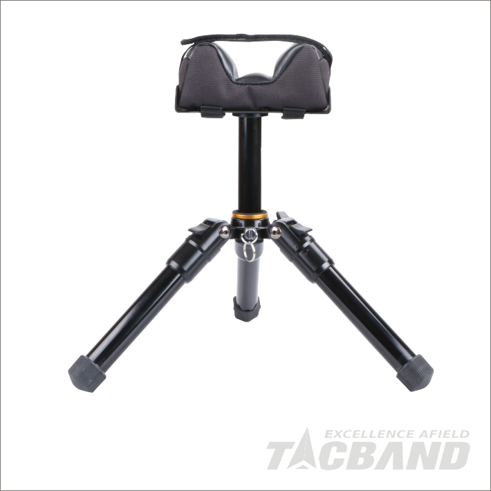SST02  Portable Gun Rest Shooting Tripod with Filled Cushion Bag